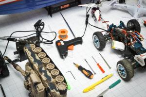ремонт радиоуправляемых моделей
